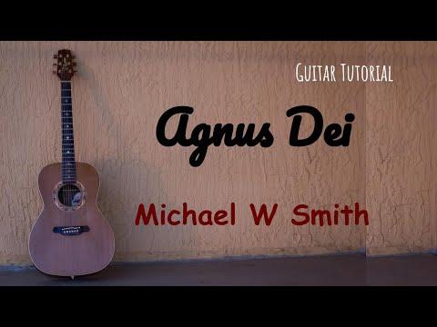 Agnus Dei Michael W. Smith - Guitar tutorial - Step by step