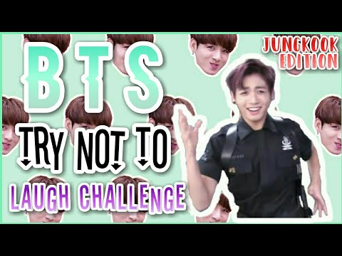 [방탄소년단 정국] BTS TRY NOT TO LAUGH CHALLENGE #1 | JUNGKOOK EDITION [DIFFICULT???]