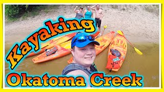 Waller Life Vlogs Kayaking the Okatoma Creek in Mississippi with GonzFam