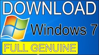 How to Download Windows 7 ultimate 64/32 bit for Free Full Version