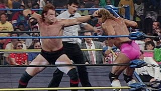 """Mean"" Mark Callous challenges U.S. Champion Lex Luger: WCW Great American Bash 1990"