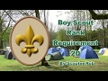 BSA SCOUT RANK REQUIREMENT 2C - YouTube