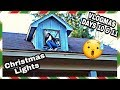 HANGING CHRISTMAS LIGHTS! & MY FAV SUB SANDWICH ! VLOGMAS DAYS 10 & 11
