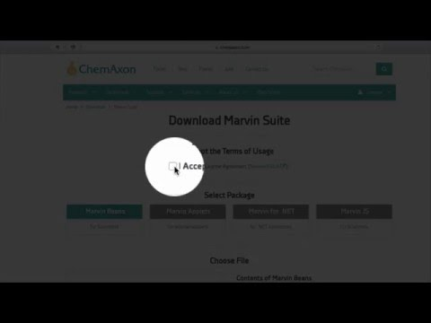 Installing Marvin Suite Chemistry Software Package