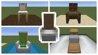 Top 5 Minecraft Chair Designs Minecraft 1.14