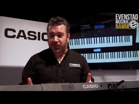 NAMM 2018 | Casio CT-X700 w/Rich Formidoni