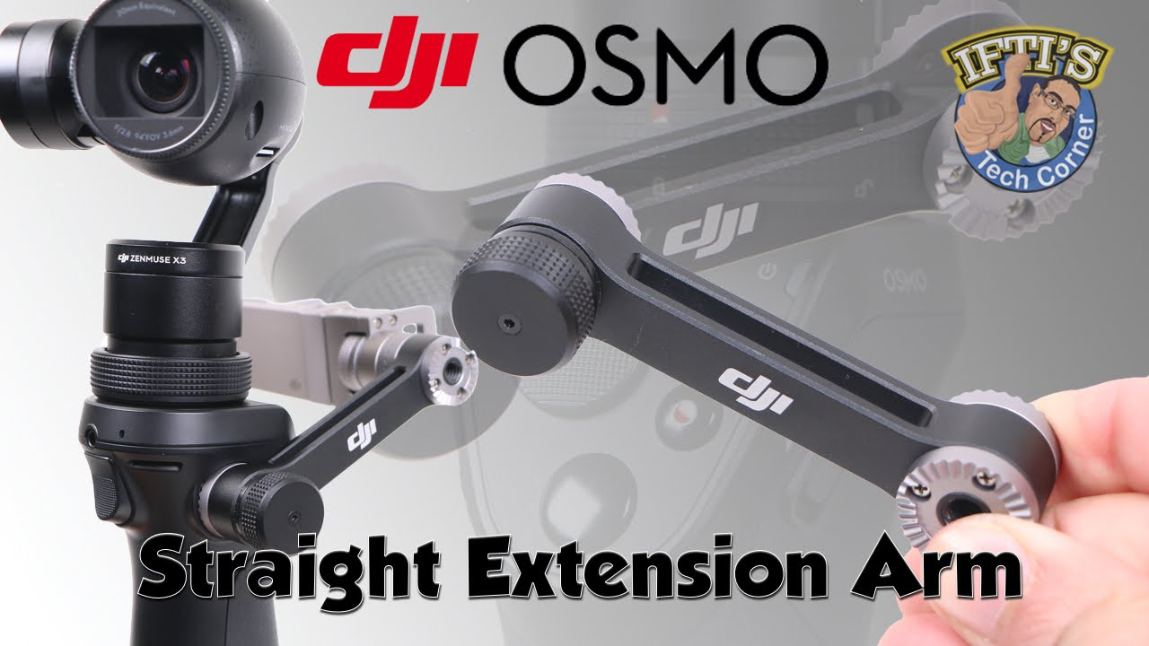 for-DJI Osmo Accessories Straight Extension Arm Mount Holder for-DJI Osmo Mobile Gimbal Handheld Tripods Adapter