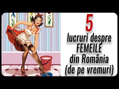 5 lucruri despre FEMEILE din România (de pe vremuri)