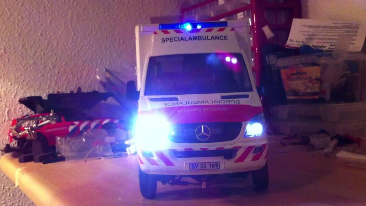 Rc Bruder Umbau Ambulance Youtube