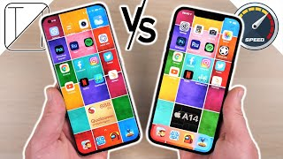 Xiaomi Mi 11 vs iPhone 12 Pro Max Speed Test