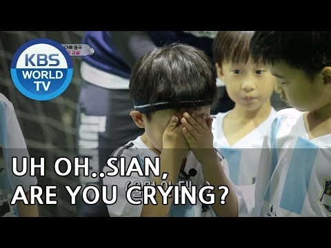 """SIAN """"I cried because I couldn't get up!!"""" [The Return of Superman/2018.09.30]"""