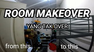 Mak aku suruh kemas bilik. tengok apa yang aku buat | EXTREME Room Makeover Malaysia