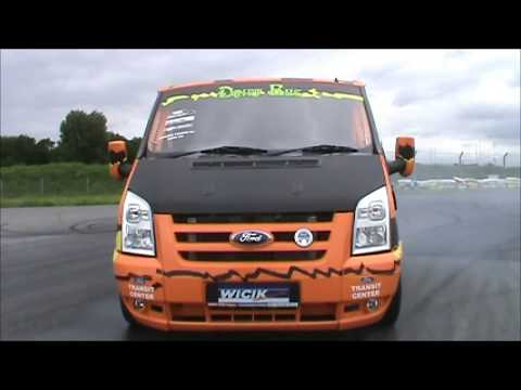 DRIFT BUS & SUPER VAN in one Ford Transit V8