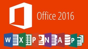 how install microsoft office 2016 fully free for window 7/10