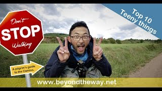 Top 10 Teeny things - A pilgrims guide to the Camino de Santiago 0202