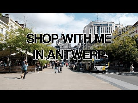 SHOP WITH ME IN ANTWERP | Travel Vlog