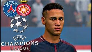 EL PSG DE NEYMAR ESPERA AL GIRONA EN LA CHAMPIONS LEAGUE!!! | FIFA 18 Modo carrera