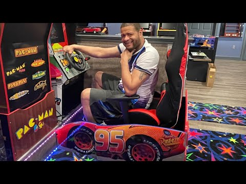outrun replacement chair Arcade1Up from Arcade Will