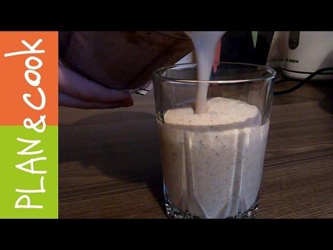 Быстрый рецепт Полезный смузи с отрубями на завтрак Полезные рецепты