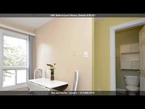 1481 Ballard Court, Ottawa K1B 4Z1, Ontario - Virtual Tour