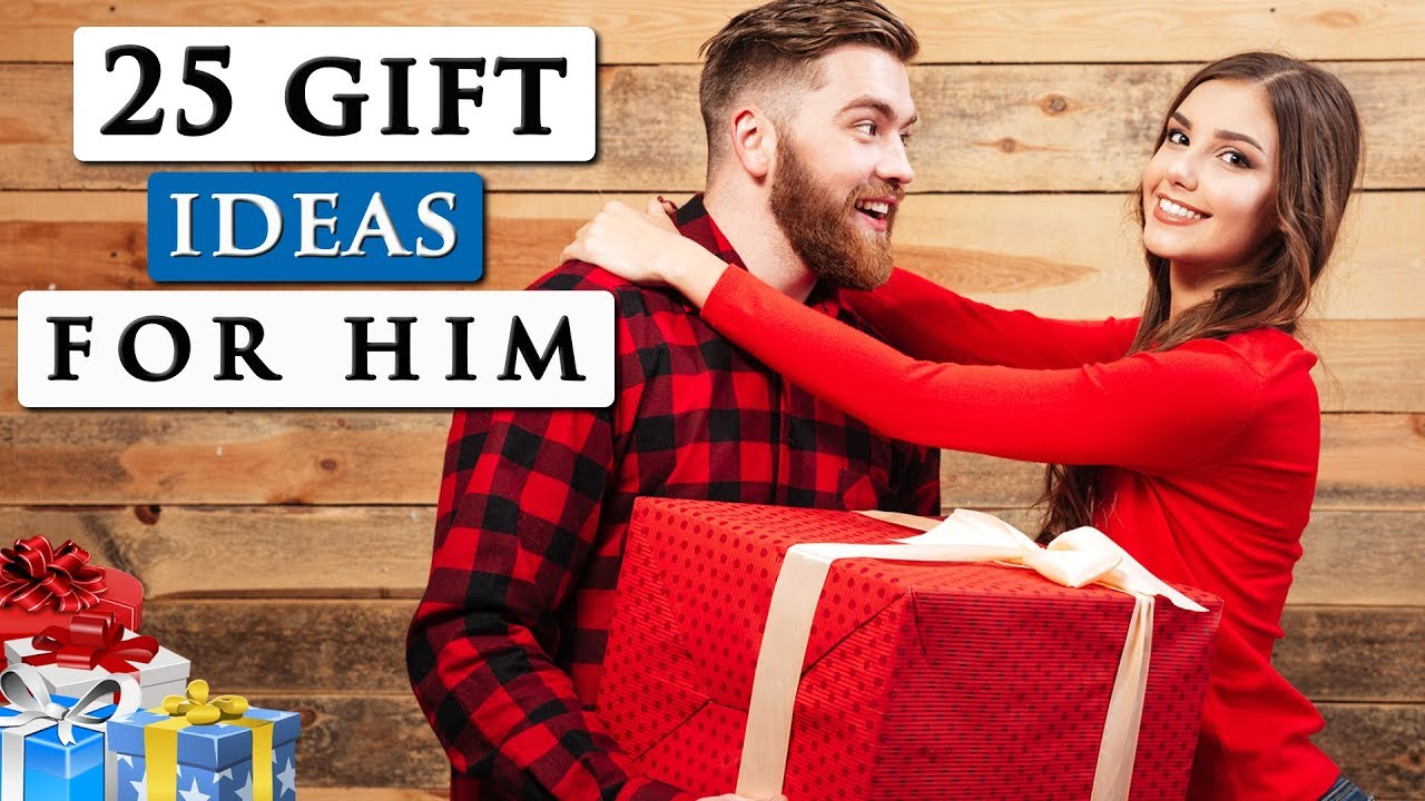 Best Gifts For Your Boyfriend 25 Gift Ideas For Any Man Youtube
