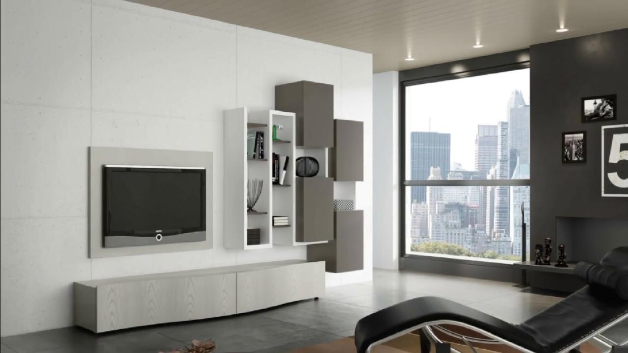 New modern tv cabinet design 2018 2019 youtube for Letti moderni design