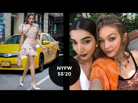 New York Fashion Week & Gigi Hadid | Vlog 54