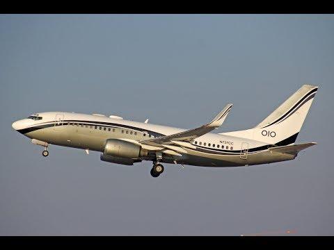 FSX - VOO CHARTER SALVADOR PARA CUIABÁ (SSA-CGB) BOEING 737 700 BBJ MID EAST JET