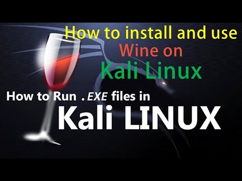 How to install and use Wine on Kali Linux! || Run Windows Programs in Kali Linux ||