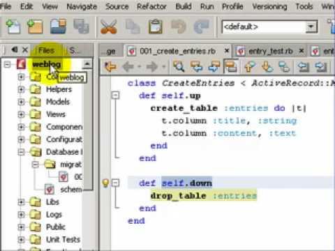 Creating a Ruby on Rails Weblog in 99 Sec(Part1)