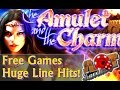 HUGE Wins! The Amulet & the Charm slot machine  ♠ SlotTraveler ♠