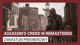 Assassin's Creed III Remastered: Zwiastun Premierowy