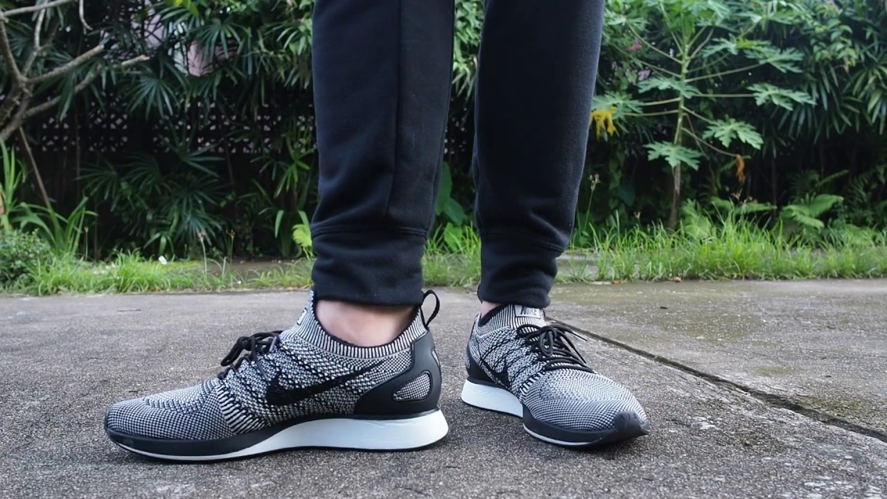2b99e9d9dd83 Nike Air Zoom Mariah Flyknit Racer on Feet - YouTube