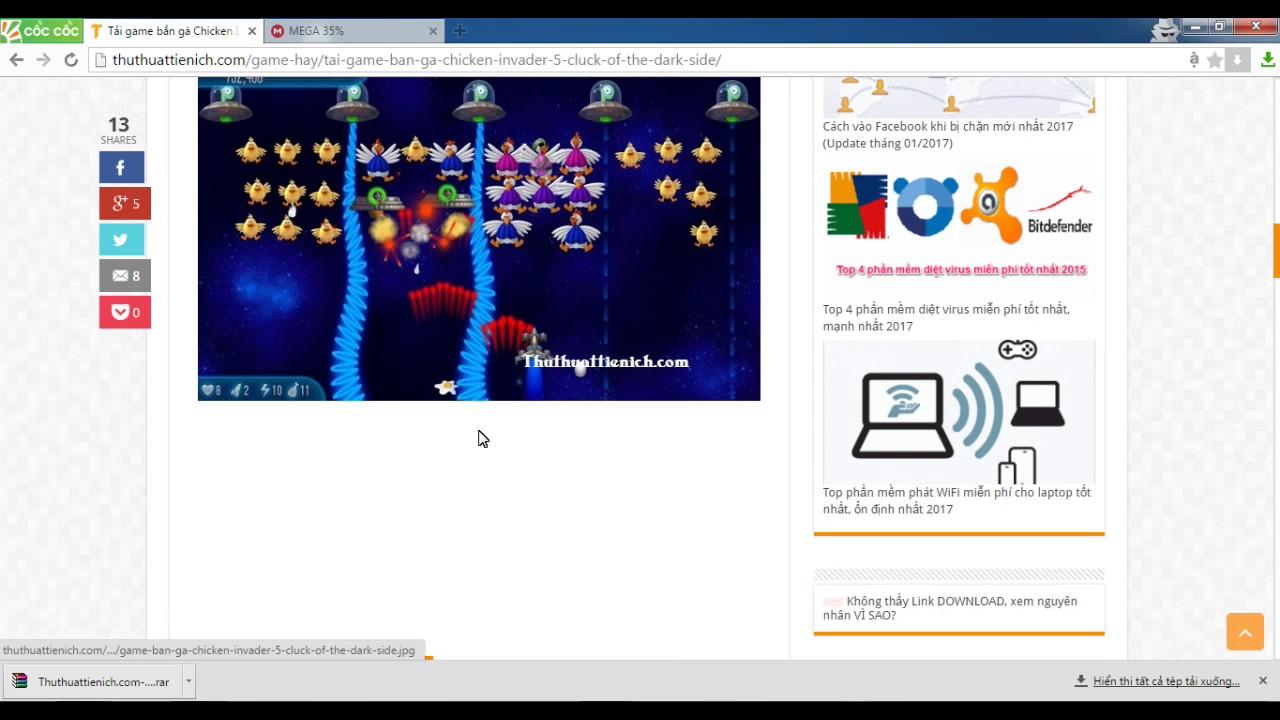 BANH BEO BOY/ Hướng dẫn tải và cài đặt game bắn gà 5 rõ hơn video hướng dẫn cũ.