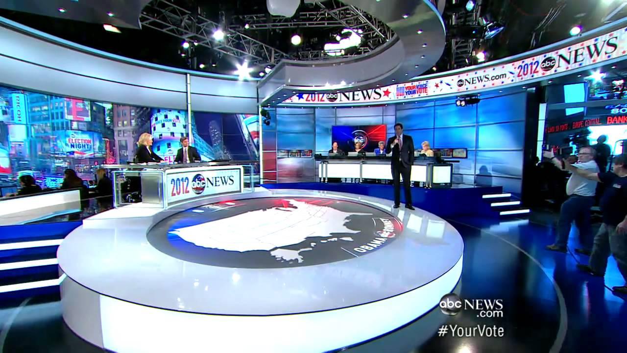 2012 presidential election newsroom tour youtube