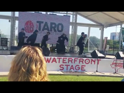 Project Taro [Jr. Exile] Performance at Houston Japan Festival 2017