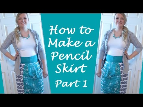 How to Make a Pencil Skirt: Part 1 - The Pattern - Coupon Included