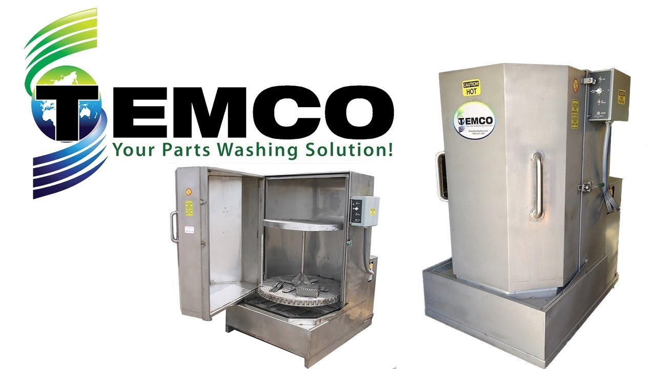 Stainless Steel Parts Washer Temco Stainless Steel Parts Washer