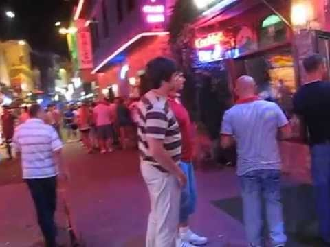 Kusadasi Turkey - Bar street