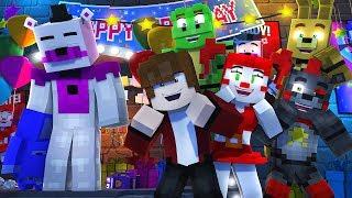 Minecraft FNAF 6 Pizzeria Simulator - BUYING FUNTIME FREDDY! (Minecraft Roleplay)