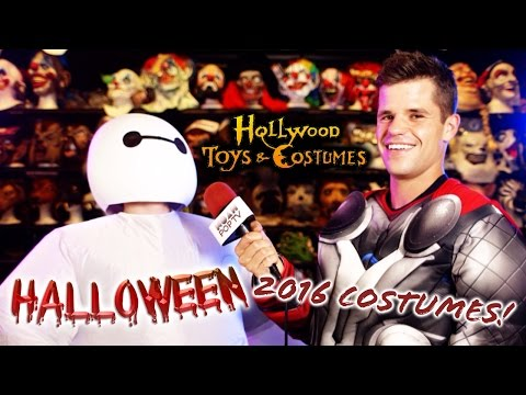 Charlie Carver of Teen Wolf & Noah Go Halloween Costume Shopping!
