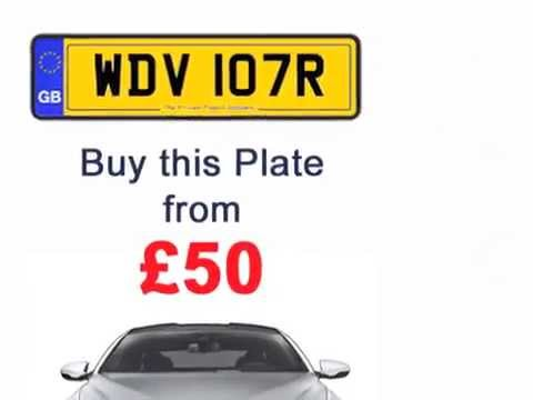 cheap private number plates youtube. Black Bedroom Furniture Sets. Home Design Ideas