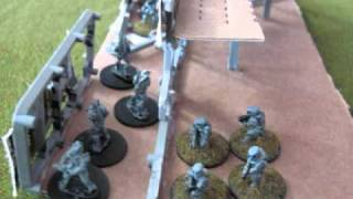 Kryton- Whitefires vs Shadowflames , FRINGE HQ first defensive wall