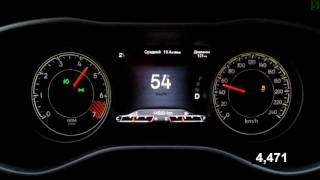 Jeep Cherokee - Acceleration 0-100 km/h (Racelogic)