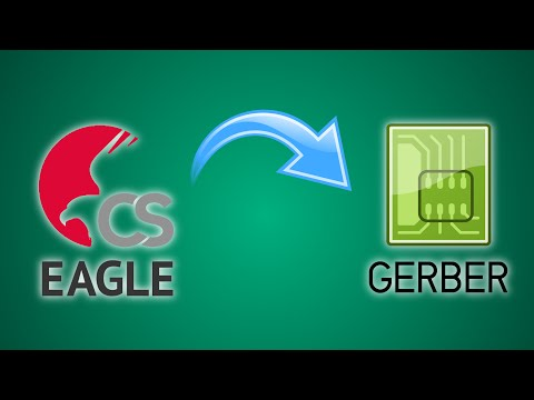How To Export GERBER Files From Eagle CAD (in Under 2 Minutes)
