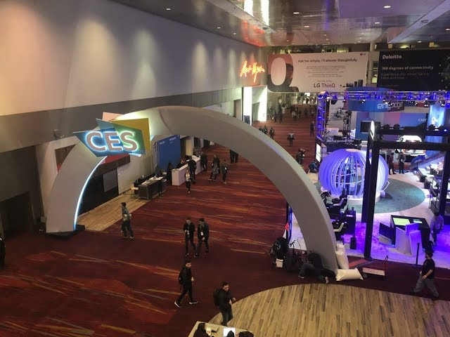 CES 2019 First day prior to the show