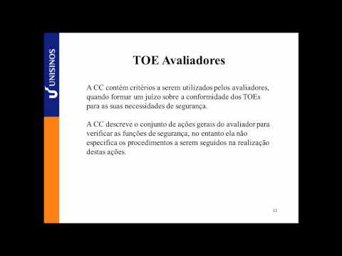 Segurança de Aplicações - ISO 15408 - Diego Maia e Tiago Motta