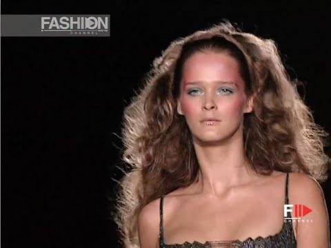VERSACE ATELIER Full Show Spring Summer 2002 Haute Couture Paris by Fashion Channel