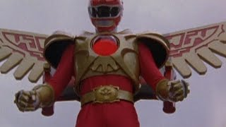 Power Rangers Wild Force - Red Ranger Battlizer Fight (The Wings of Animaria Episode) thumbnail