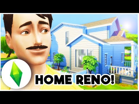 LET'S PLAY THE SIMS 4 | HOUSE RENO! [ Part 8 ]